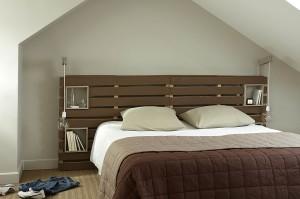 tête de lit palettes